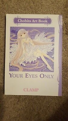 Chobits Art book, good condition, Your Eyes Only