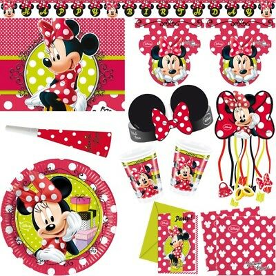 MINNIE MAUS KINDERGEBURTSTAG Party Kinderparty Minni Mouse ...