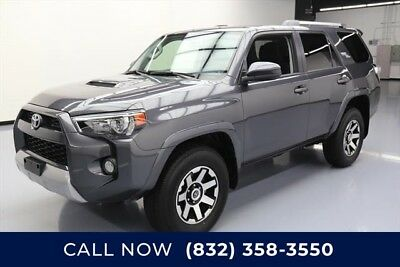 Toyota 4Runner 4x4 TRD Off-Road 4dr SUV Texas Direct Auto 2018 4x4 TRD Off-Road 4dr SUV Used 4L V6 24V Automatic 4X4 SUV