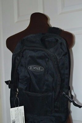 DSL Backpack Black with Cross Body Strap