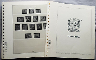 Lindner Pre-printed Sheets 508A South Africa 1961-1993 Sheets 1-71