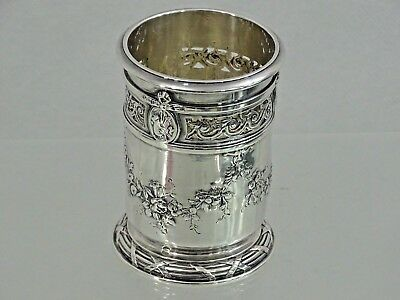 MAGNIFICENT QUALITY ANTIQUE FRENCH SILVER PENCIL HOLDER STERLING FRANCE 19 cent
