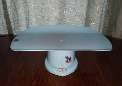 Vintage Counselor Brearley Company Metal Baby Scale 50s Era Nursery decor works