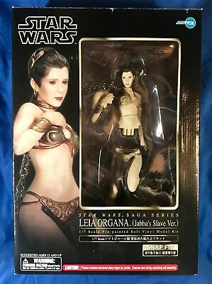 Princess Leia~Jabba's Slave Ver.~1/7Th Scale Figure~Model Kit~Artfx~Kotobukiya