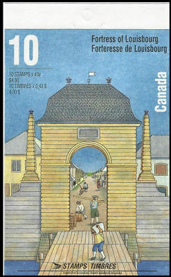 1995-Canada - Fortress of Louisbourg  - SC#1551b  Stamps - Booklet of 10 Mint-NH