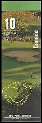 1995-Canada - Royal Canadian Golf  - SC#1557b  Stamps - Booklet of 10 Mint-NH