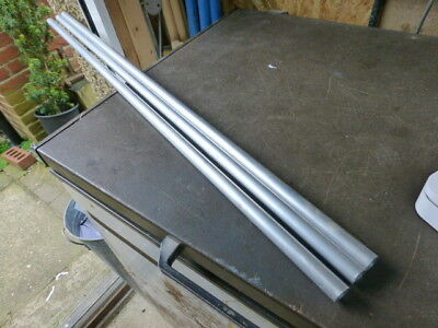 3 pieces of 20mm Aluminium Round Tube  1000mm long