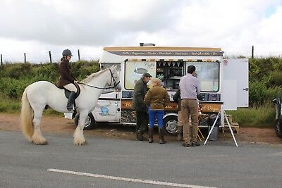 Fully equipped coffee & catering van