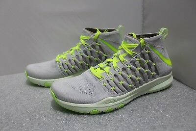 detailed look 07c62 673a1 Nike Train Ultrafast Flyknit Mesh Training Shoes Men s Size 13  843694-006