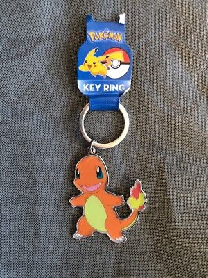 "Pokemon Metal Key Chain Ring 2"" inch Charmander New"