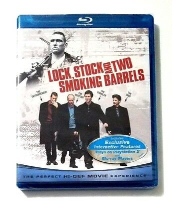 Lock, Stock and Two Smoking Barrels (Blu-ray Disc) Brand New and Factory Sealed!
