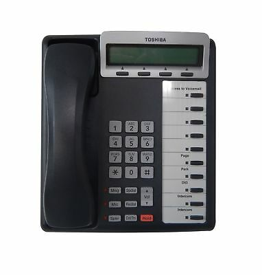 Toshiba DKT3210-SD Digital Business Telephone with Conference Calling