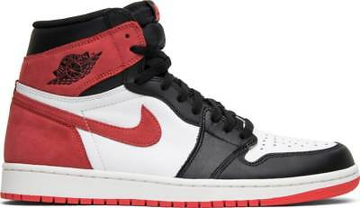 brand new d25bf 5ba94 Nike Air Jordan 1 Retro High OG Track Red 555088-112 Authentic Limited