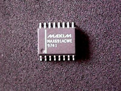 MAX691ACWE -  MAX691 -  Maxim Integrated Circuit (SOIC-16 Wide)