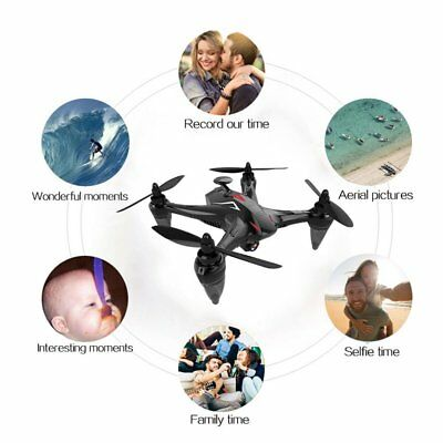 WIFI RC GW198 5G 2.4G Remote Drone W/ 720P Camera GPS FPV Brushless Helicopters