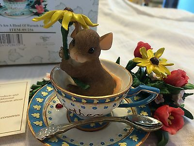 "Charming Tails ""MOTHERS ARE A BLEND OF WARMTH""  DEAN GRIFF FITZ & FLOYD TEA CUP"