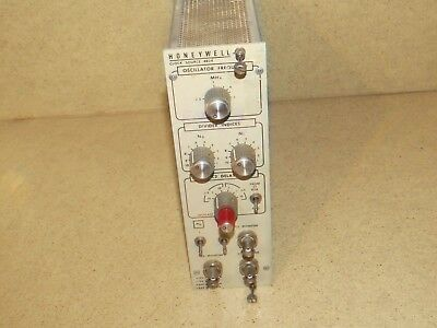 Honeywell Clock Source #4824   Nim Bin Module Plug In