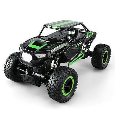 1/14 4WD Remote Control RC Off-road 2.4GHz Climbing Crawler Climber Truck Green