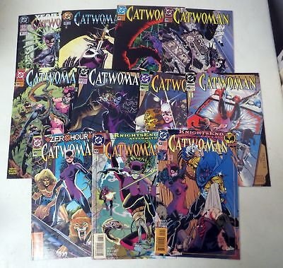Vintage 1990s COMIC BOOK  CATWOMAN Jim Balent LOT (11) 12 thru 22