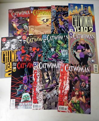 Vintage 1990s COMIC BOOK  CATWOMAN Jim Balent LOT (11)