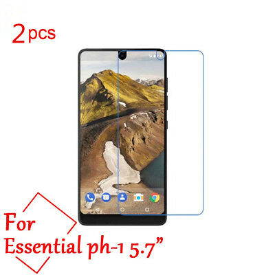 2pcs 9H Tempered Glass Screen Protector Cover Film For Essential Phone PH-1
