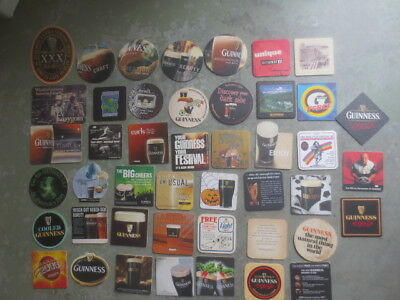 45 different GUINNESS  Issued  COASTERS collectable