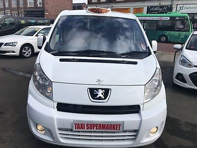 Peugeot Expert E7 Taxi Wheelchair Accessible In White Lwb Se 57 Reg!!!!!!