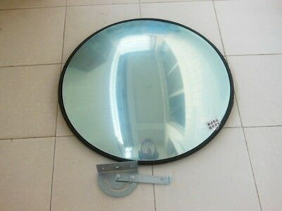 1X New Black 60cm Indoor Convex Polycarbonate Safety