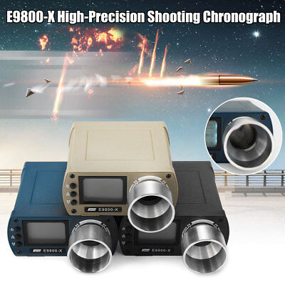 E9800-X High Precision BB Airsoft Shooting FPS Measure Chronograph Speed Tester