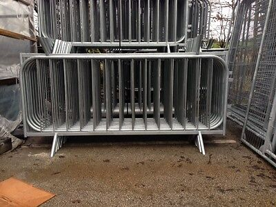 pedestrian barrier, crowd control barrier, security Barrier temporary fencing