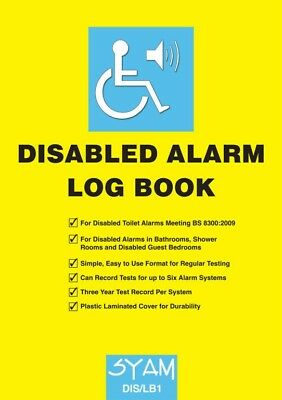 LOGBOOK for Disabled Facilities | Necessity for Workplaces