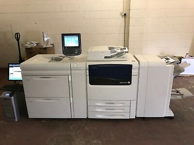 Xerox J75 Digital Copier with Oversized High Capacity Feeder & Booklet Finisher