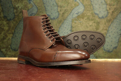 74506259923 LOAKE 1880 HYDE Brown Derby Boot 8½F - New Slight Seconds RRP £240 (16292)
