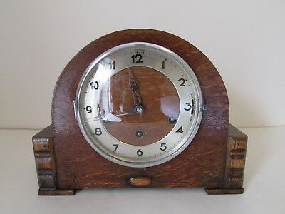 Gufa - Westminster and Triple chime mantel clock. Art Deco. Good working order.