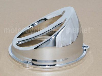 Chrome Look Motorcycle Scooter Accessories Air Scoop Fan Cover Cap For GY6