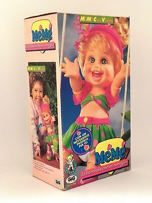 Baby Face Doll So Funny Natalie MeMe Così Vivace Galoob GIG MIB NOS italian vers