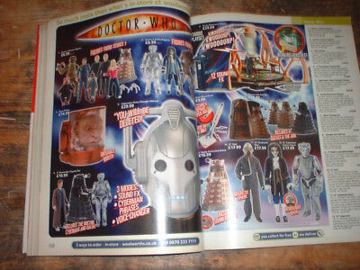 2007 WOOLWORTHS CATALOGUE 546 pages incl TOYS DOCTOR WHO STAR WARS TRANSFORMERS