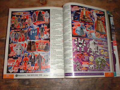 2007 ARGOS CATALOGUE 1,686 pages incl TOYS DOCTOR WHO STAR WARS SCALEXTRIC