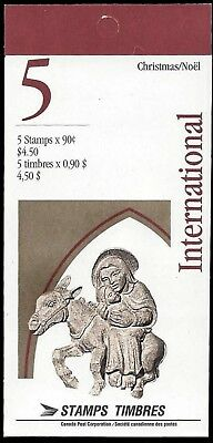 1995 -Capital Sculptures- SC#1587a  Stamps - International Booklet of 5  Mint-NH