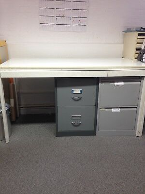 Metal Layout Table With Storage Drawers – 1500 X 700