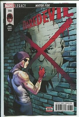 Daredevil #598 - Dan Mora Cover - Ron Garney Art - Marvel Comics/2018