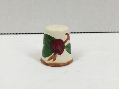 Vintage Franciscan Ware APPLE Pattern Thimble