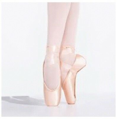 Capezio Pointe Shoes -  Used Once Ribbons and Elastic Sewn On 6.5 WW