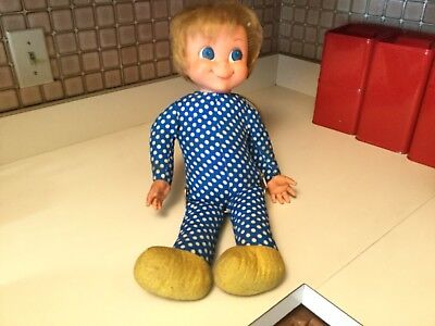 Vintage Mrs. Beasley Doll 1967 Mattel Talking Pullstring Family Affair TV Show
