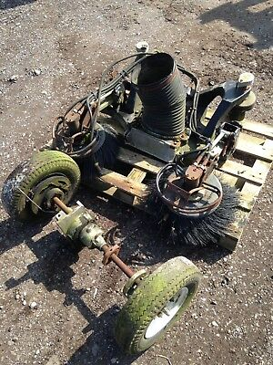 green machine sweeper Spare Parts