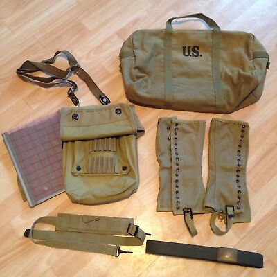 US Army Reenactment WWII field equipment package REPRO Ausrüstung