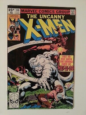 *** Marvel Comics Uncanny X-Men # 140