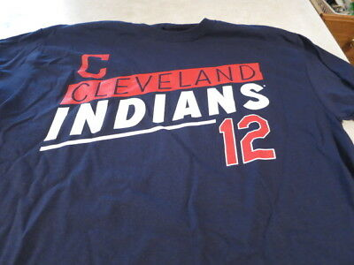 new product 1c956 98284 NWT BLUE CLEVELAND INDIANS Francisco Lindor Jersey T size medium