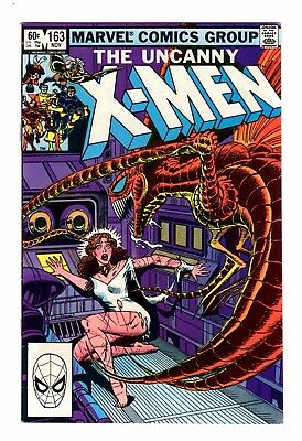 Uncanny X-Men #163 November 1983  FN+/VFN-