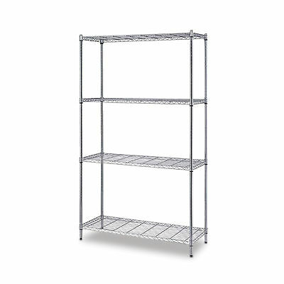"One Box Wire Shelving 4-Shelf Unit 24""D x 72""H, 48""W  1 ea"